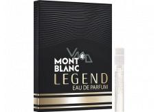 Montblanc Legend Eau de Parfum sprchový gel pro muže 1,2 ml s rozprašovačem, vialka