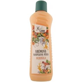 Bohemia Gifts Kids Meruňka krémová pěna do koupele 1 l