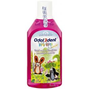 Odol3dent s motivem Krtečka ústní voda pro děti 250 ml
