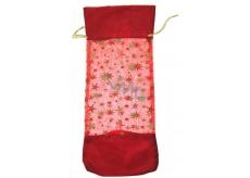 Dárková taštička látková vánoční motiv 37 x 16 cm 1 kus