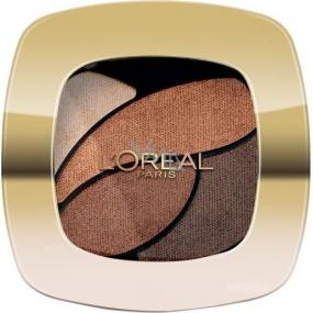 Loreal Paris Color Riche Les Ombres oční stíny E3 Infiniment Bronze 2,5 g