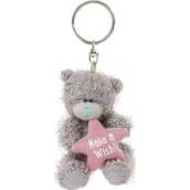 Me to You Medvídek s hvězdičkou Make A Wish plyšová klíčenka 7,5 cm