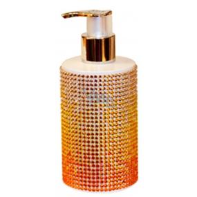 Vivian Gray Diamond Sundown Yellow luxusní tekuté mýdlo s dávkovačem 250 ml