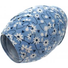 Nekupto Klubíčko Luxus modré - bílé kytičky 184 40 KB 10 m