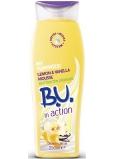 B.U. In Action Lemon & Vanilla Mousse sprchový gel pro ženy 250 ml