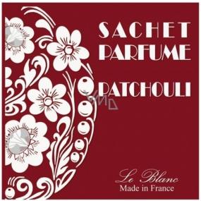 Le Blanc Patchouli Vonný sáček Pačuli 11 x 11 cm 8 g