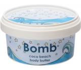 Bomb Cosmetics Kokosová pláž Přírodní tělové máslo ručně vyrobeno 200 ml