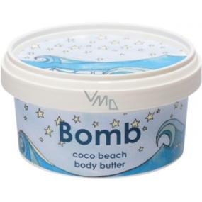Bomb Cosmetics Kokosová pláž - Coco Beach Přírodní tělové máslo ručně vyrobeno 200 ml