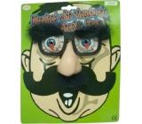 Hm Studio Brýle s nosem a obočím - žertovný předmět
