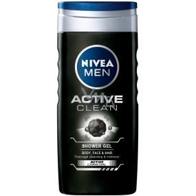 Nivea Men Active Clean sprchový gel 500 ml