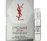 Yves Saint Laurent L Homme Sport toaletní voda 1,5 ml s rozprašovačem, Vialka