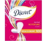 Discreet Normal No Perfume Economy slipové intimní vložky pro každodenní použití 100 kusů