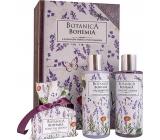 Bohemia Gifts & Cosmetics Botanica Levandule sprchový gel 200 + šampon na vlasy 200 ml + toaletní mýdlo 100 g, kniha kosmetická sada