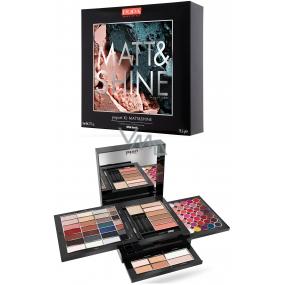 Pupa Pupart XL Matt & Shine Make-up kazeta pro líčení očí, rtů a obličeje 012 Wild Earth 78,5 g