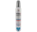 Vitale Exclusively Professional barvící pěnové tužidlo s vitaminem E Teal - Tmavě modrozelený 200 ml
