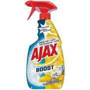 Ajax Boost Baking Soda & Lemon univerzální čisticí prostředek odmašťuje, čistí, chrání jemné povrchy rozprašovač 500 ml