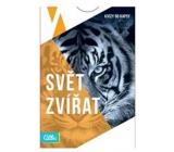 Albi Kvízy do kapsy Svět zvířat 50 karet, věk: 12+
