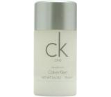 Calvin Klein CK One deodorant stick unisex 75 ml