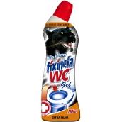 Fixinela Extra silná Wc gel síla šelmy čistící a dezinfekční přípravek 750 ml