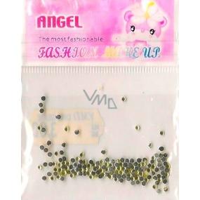 Angel Oozdoby na nehty kamínky žluté 1 balení