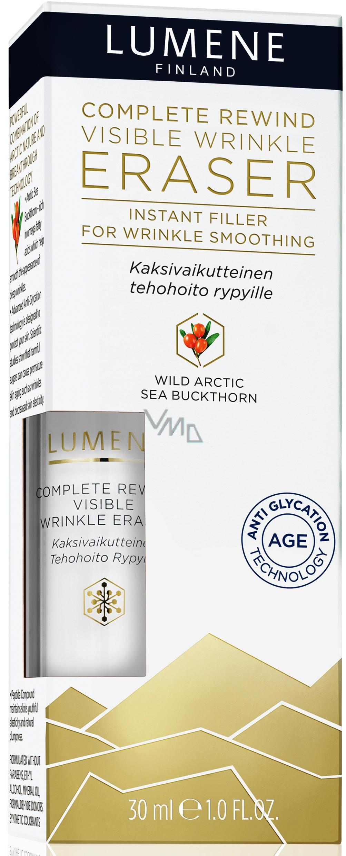 Lumene Complete Rewind Visible Wrinkle Eraser sérum proti vráskám s vyhlazujícím účinkem 30 ml