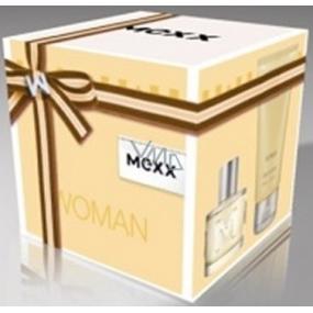 Mexx Woman toaletní voda 40 ml + 2 x tělové mléko 50 ml dárková sada