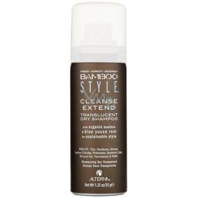 Alterna Bamboo Style Cleanse Extend Dry Shampoo Mini neviditelný transparentní suchý šampon 40 ml