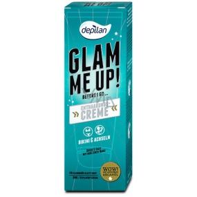 Depilan Glam Me Up! na oblast bikin a podpaží depilační krém 80 ml
