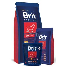 Brit Premium Adult L pro dospělé psy velkých plemen 25 - 45kg 15 kg Kompletní prémiové krmivo