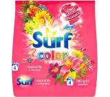 Surf Color Tropical Lily & Ylang Ylang prášek s aviváži na praní barevného prádla 4 dávky 280 g