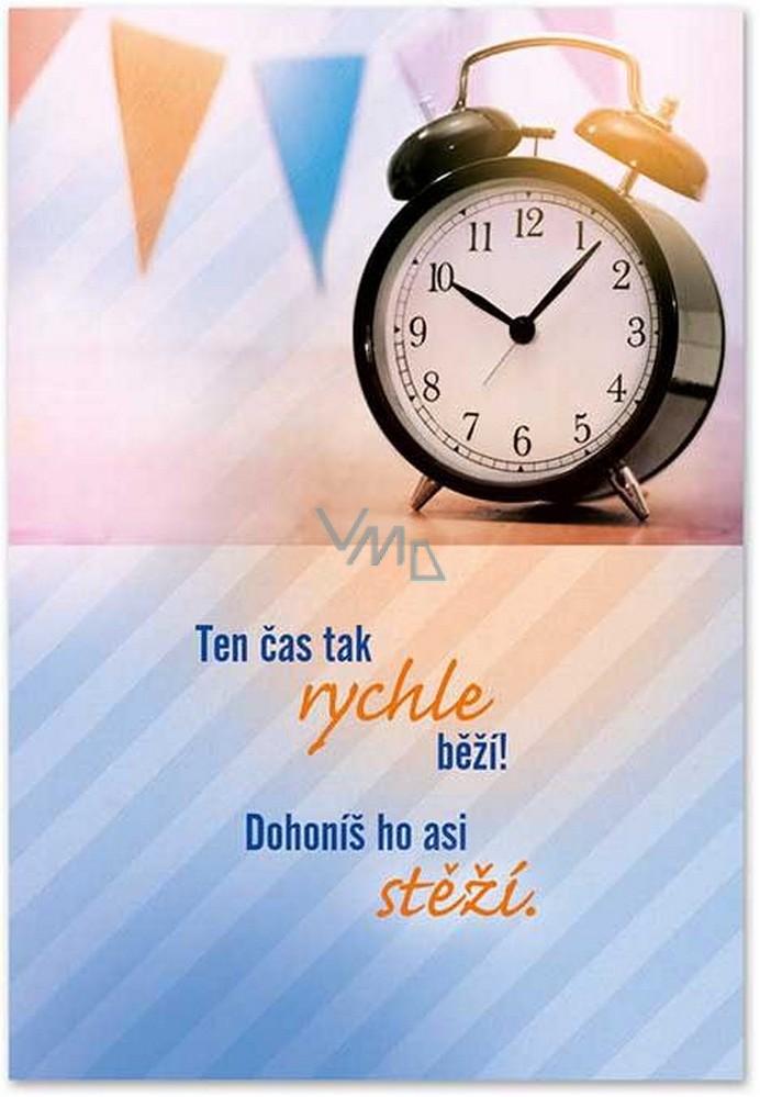Ditipo Hrací přání k narozeninám Ten čas tak rychle běží Chinaski Tabáček 224 x 157 mm
