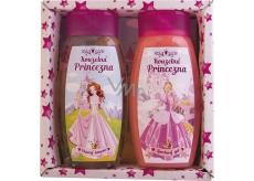 Bohemia Gifts & Cosmetics Kids Princezny sprchový gel 250 ml + šampon na vlasy 250 ml, kosmetická sada
