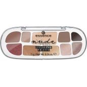 Essence Nude Eyeshadow Palette paletka očních stínů 7 g