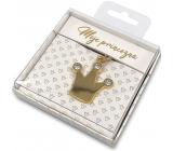 Nekupto Dárková klíčenka pro štěstí Moje princezna 4 cm