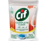 Cif All in 1 Lemon tablety do myčky nádobí 46 kusů