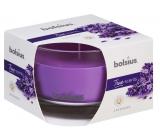 Bolsius True Scents Lavender - Levandule vonná svíčka ve skle 90 x 63 mm