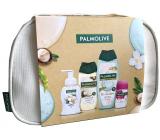 Palmolive Wellness Nourish sprchový gel 250 ml + Magic Softness Jasmine pěnové mýdlo 250 ml + Revitalize sprchový gel 250 ml + Luxurious Softness antiperspirant roll-on 50 ml + etue, kosmetická sada