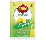 Orion Fragrance Citrón & Zelený čaj závěsné kolíčky proti molům 2 kusy