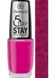 Dermacol 5 Day Stay Nail Polish lak nehty 09 10 ml