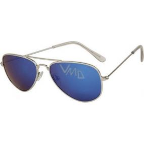 Dudes & Dudettes JK378 modré sklo sluneční brýle pro děti