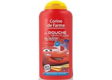 Corine de Farme Disney Cars 2v1 šampon na vlasy a sprchový gel pro děti 250 ml