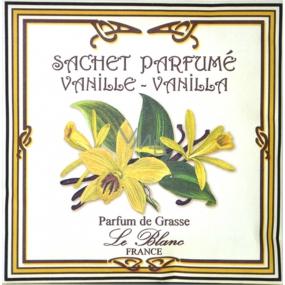 Le Blanc Vanille Vonný sáček Vanilka 11 x 11 cm 8 g