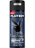 Playboy King of The Game deodorant sprej pro muže 150 ml