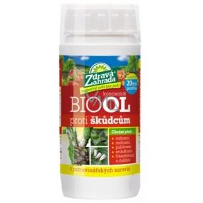 Zdravá zahrada Biool proti škůdcům, insekticid u potravinářských surovin 200 ml