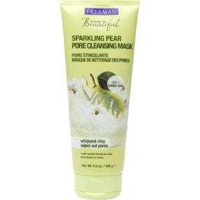 Freeman Sparkling Pear Pore Cleansing Mask Hruška pěnivá maska na čištění pórů 140 ml