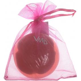 Fragrant Glycerinové mýdlo v jemné organze Rose 140 g