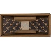 Bohemia Gifts & Cosmetics Dřevěný motýlek Sailor 12,5 cm