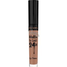 Miss Sporty Satin to Last Lip Cream tekutá rtěnka 110 3,7 ml