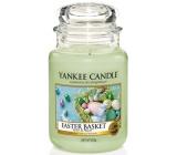 Yankee Candle Easter Basket - Velikonoční košíček vonná svíčka Classic velká sklo 625 g Easter 2019