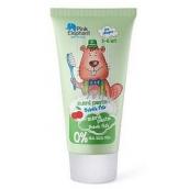 Pink Elephant Bobřík Peťko s příchutí třešní zubní pasta pro děti 50 ml